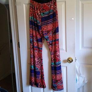 Plus size wide leg Forever 21 leggings